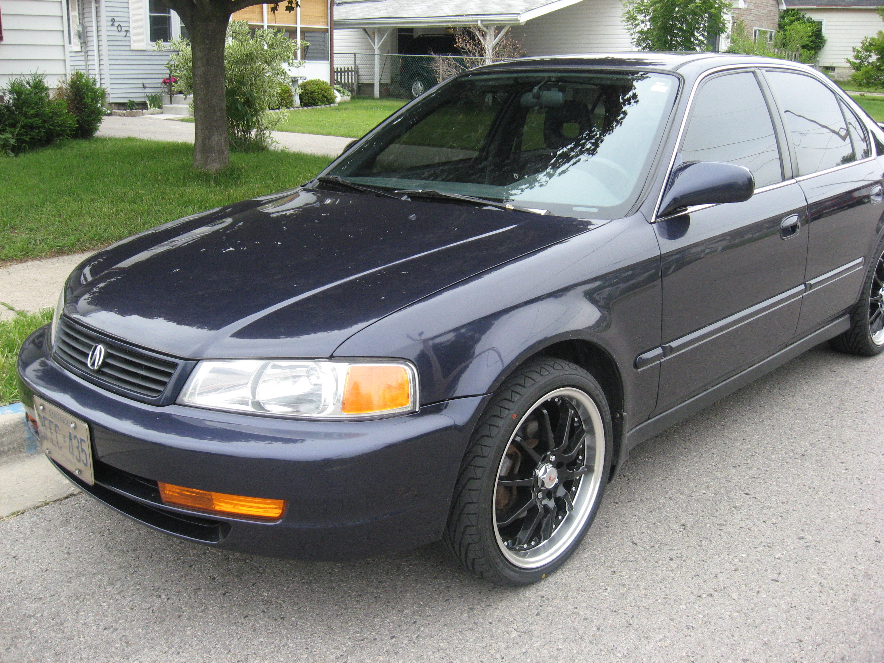 Burnedrice 1998 Acura El Specs  Photos  Modification Info At Cardomain