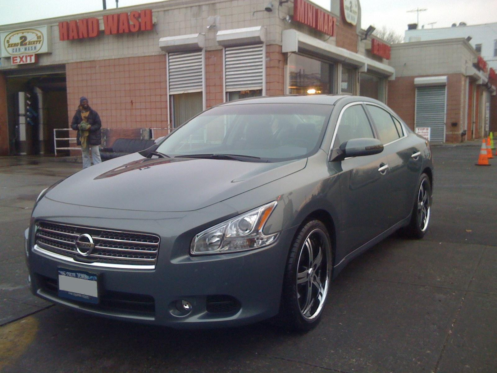 maxidoggy 39 s 2009 nissan maxima in springfield gardens ny. Black Bedroom Furniture Sets. Home Design Ideas