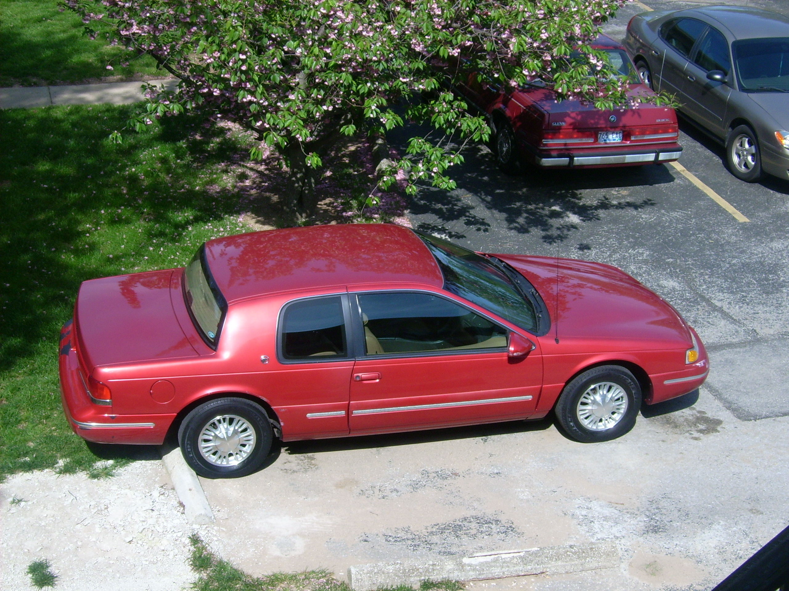Another FLEETWORKS 1996 Mercury Cougar post... - 13012167