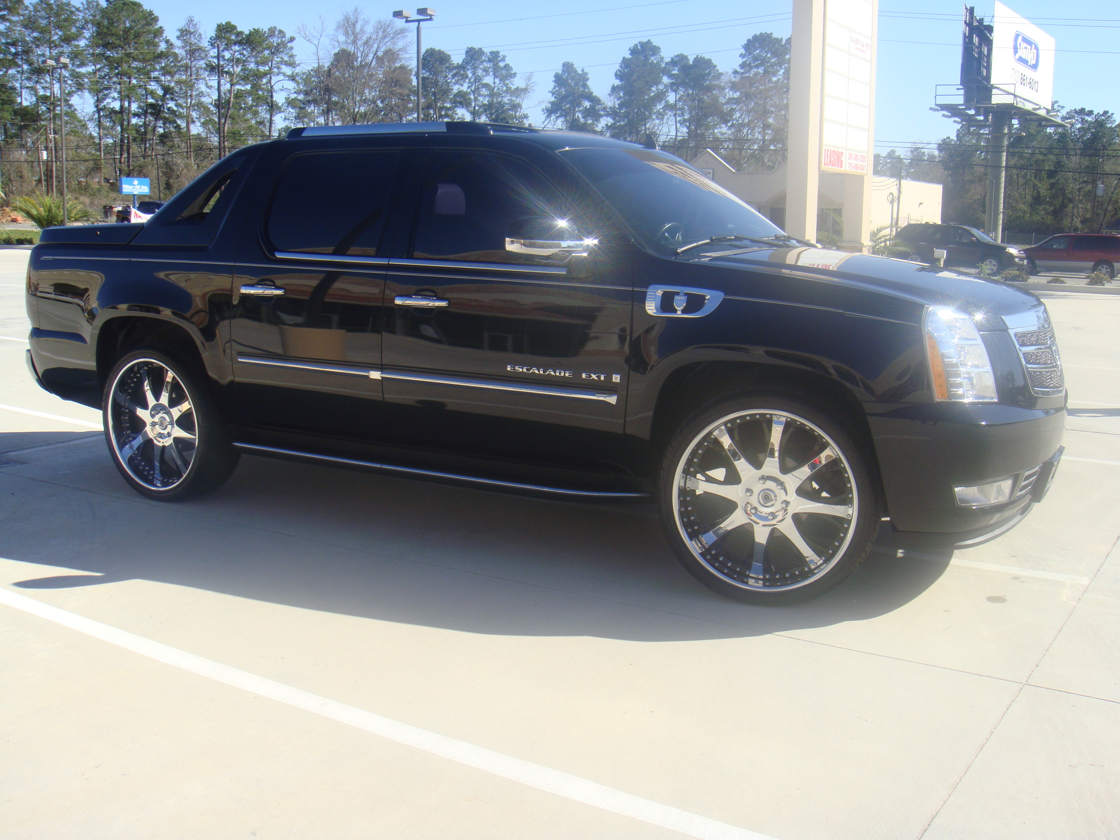 asantiext 39 s 2008 cadillac escalade in houston tx. Black Bedroom Furniture Sets. Home Design Ideas