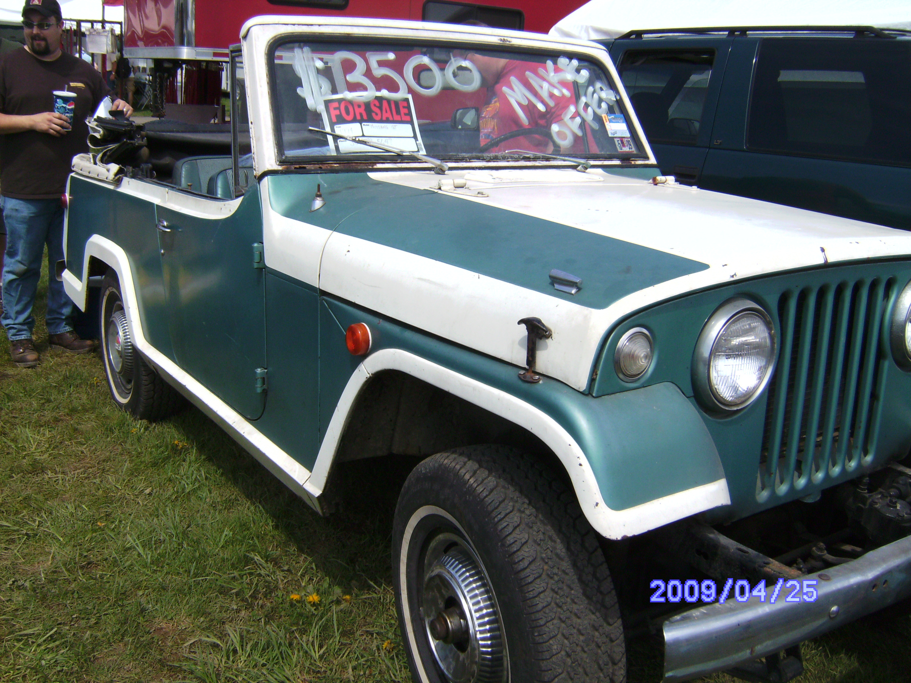 JennyX's 1968 Jeep Commando