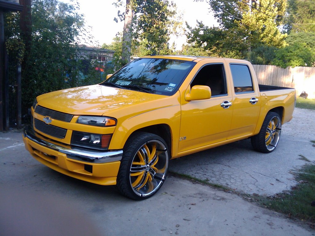 colorado on24s 2005 chevrolet colorado regular cab specs photos modification info at cardomain. Black Bedroom Furniture Sets. Home Design Ideas