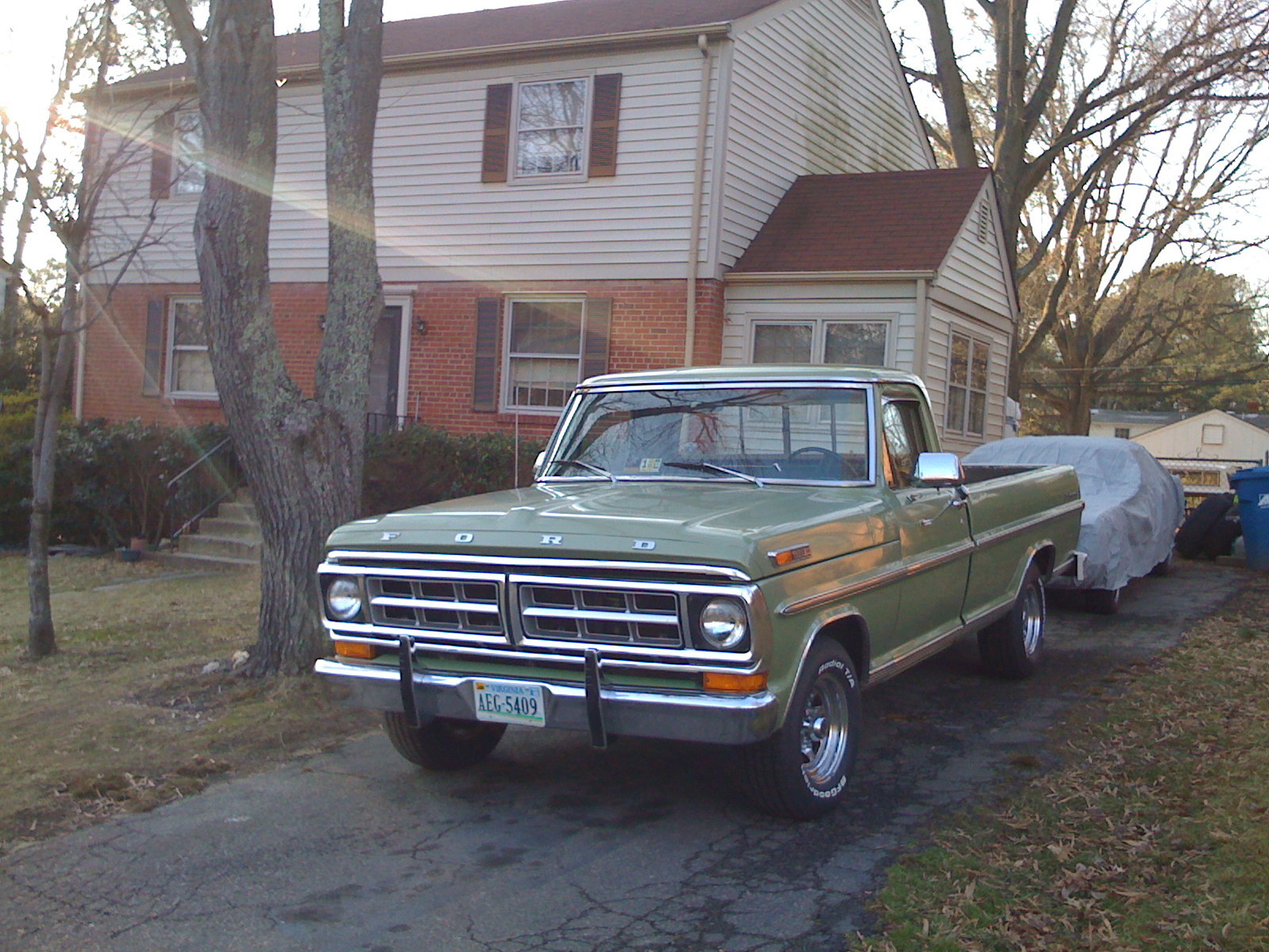 71VAF100's 1971 Ford F150 Regular Cab