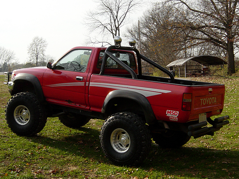 I love roll bars 56k death page 3 yotatech forums - Interior roll cage for toyota pickup ...