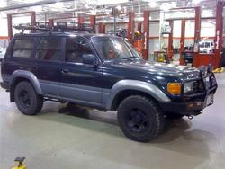 MeanGreenT100s 1997 Toyota Land Cruiser