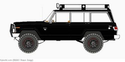 8UP4JEEPS 1986 Jeep Grand Wagoneer