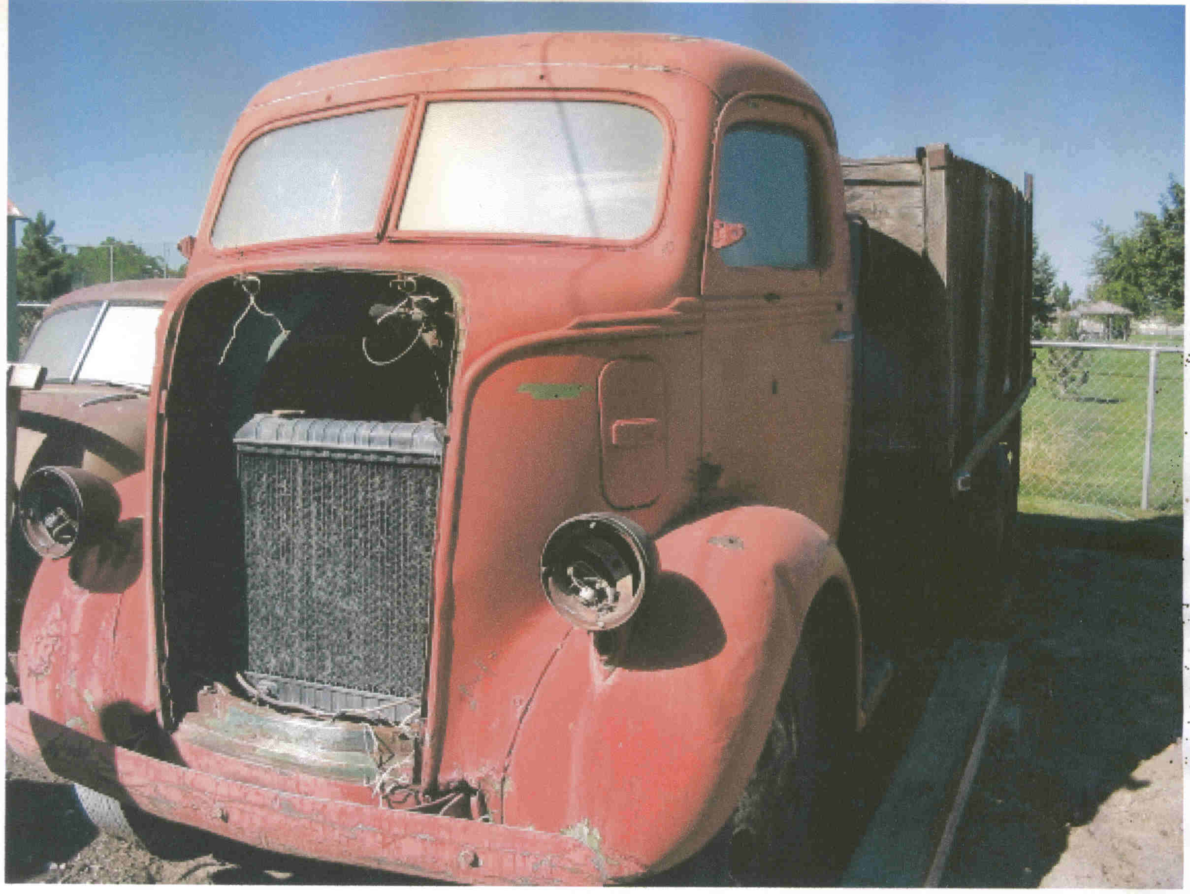 1947 Ford COE Project (maybe)
