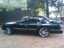 BABYLAND 2001 Mercury Grand Marquis