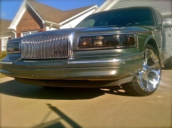 97Narco84 1997 Lincoln Town Car