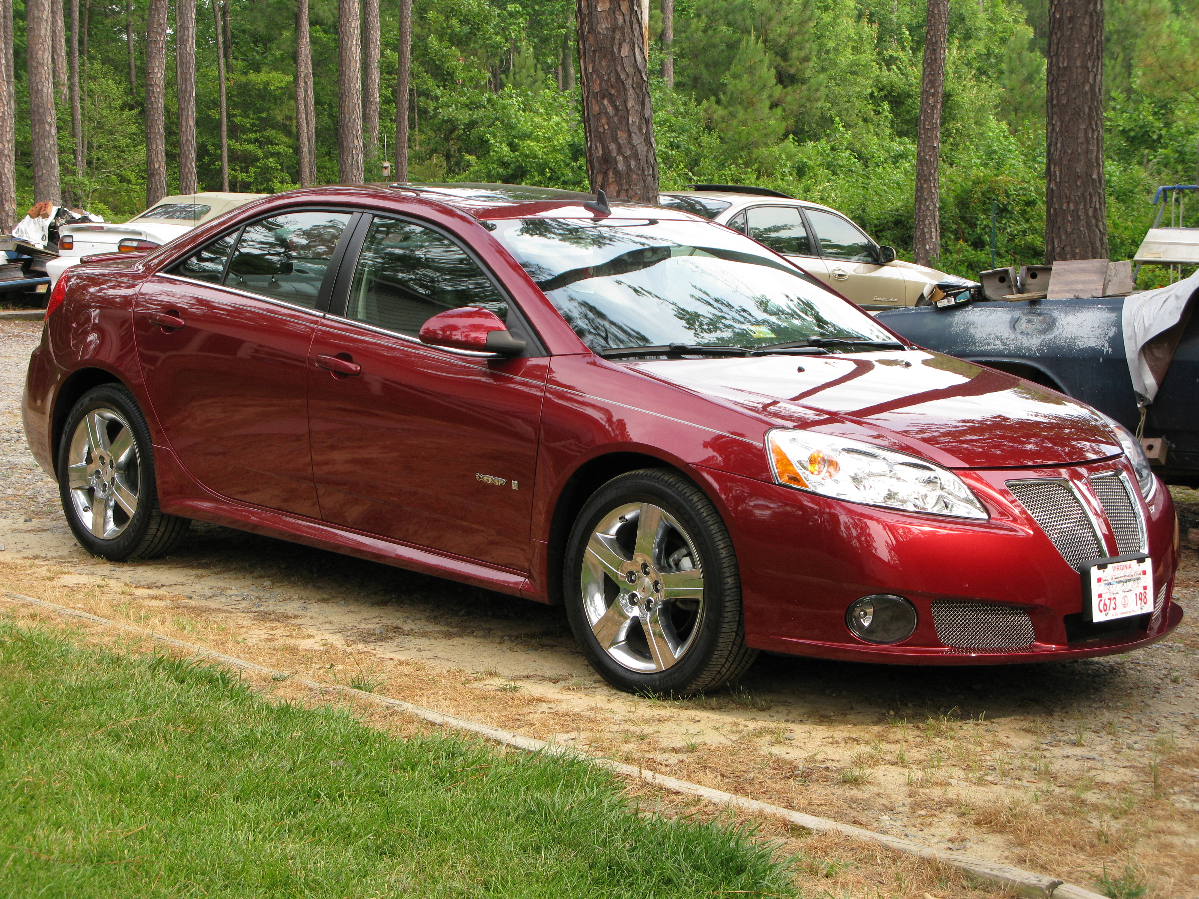Jcollins26 2008 Pontiac G6gxp Sedan 4d Specs Photos