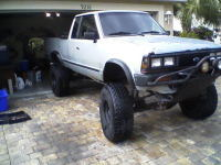 Chevysrebels 1985 Nissan 720 Pick-Up
