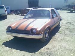 Fishbowl 1976 AMC Pacer