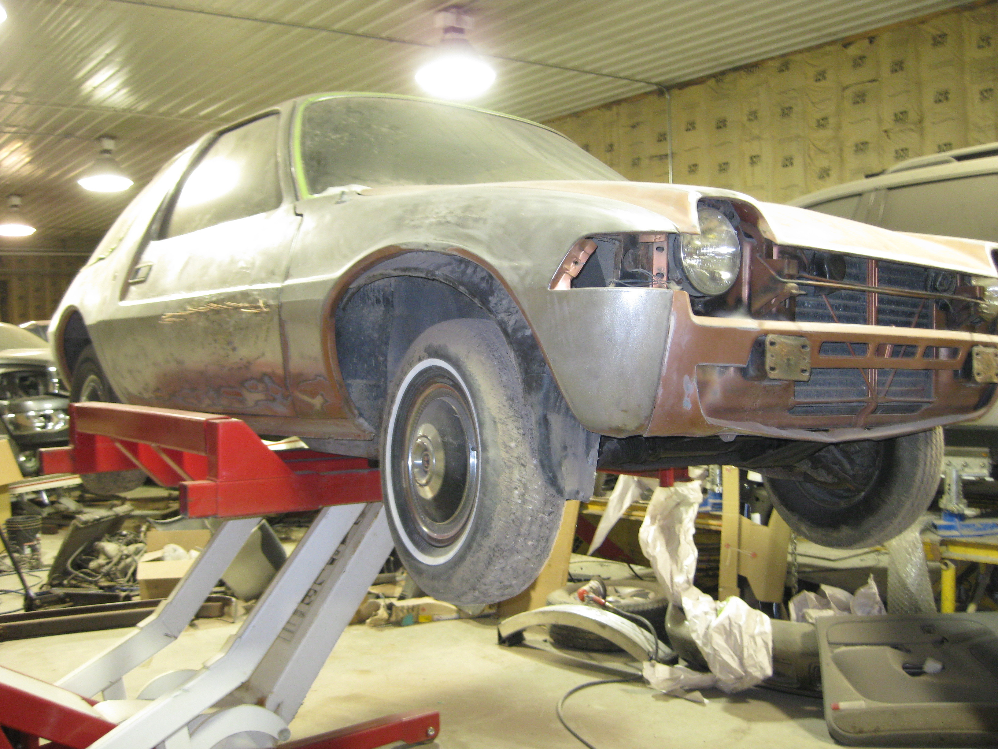 Another Fishbowl 1976 AMC Pacer post... - 13050071