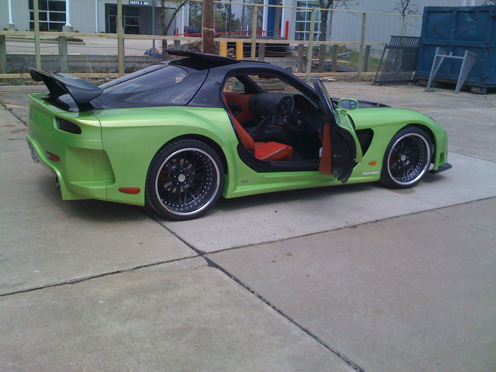 Wonderful Limeveilside 1993 Mazda RX 7