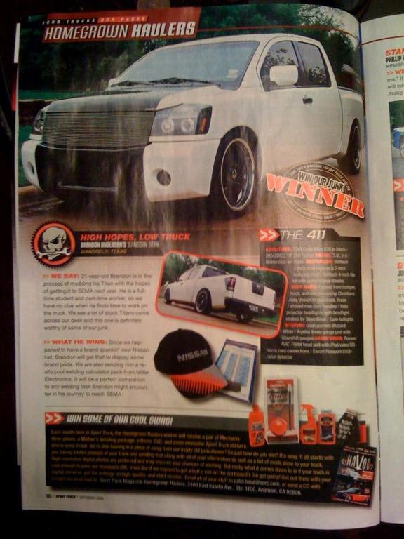 Another pimpsterlikewoah 2007 Nissan Titan Crew Cab post... - 13048455