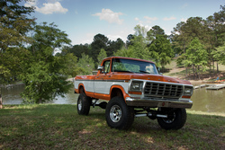 BIG-ORANGE-FORDs 1978 Ford F150 Regular Cab