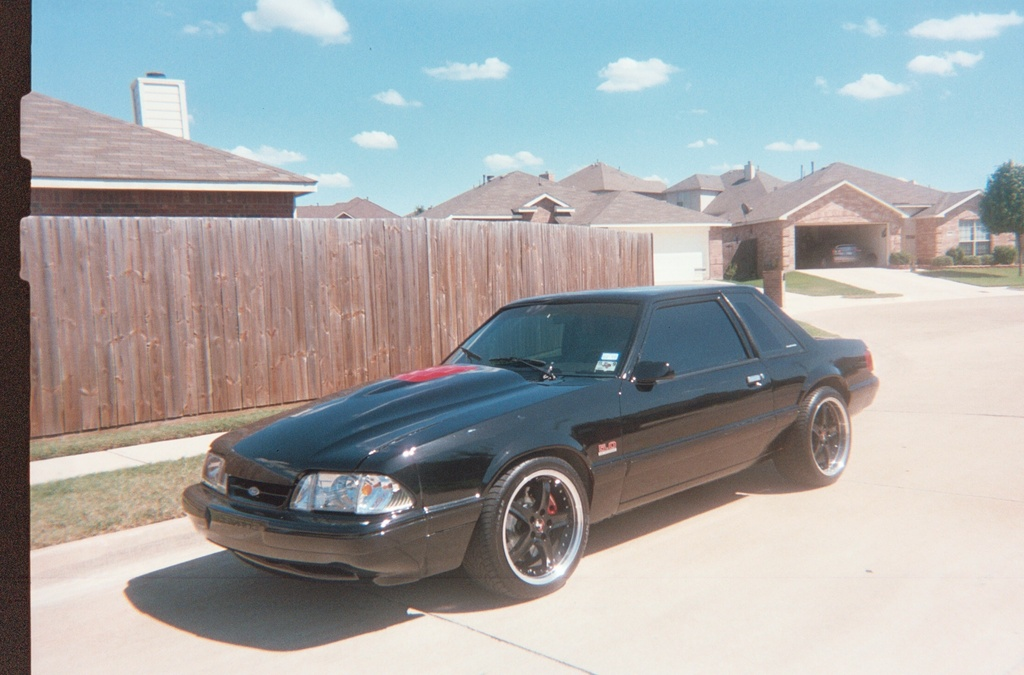 BlueOval500 1993 Ford Mustang