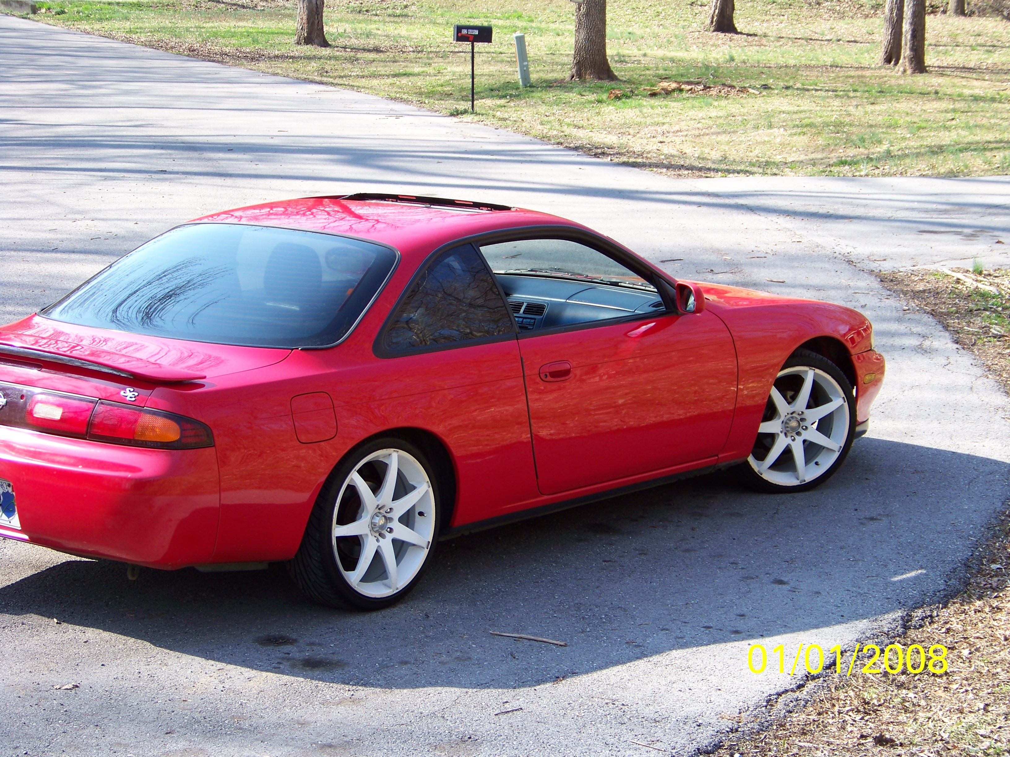 Red Reaper S14 1995 Nissan 240sx Specs  Photos