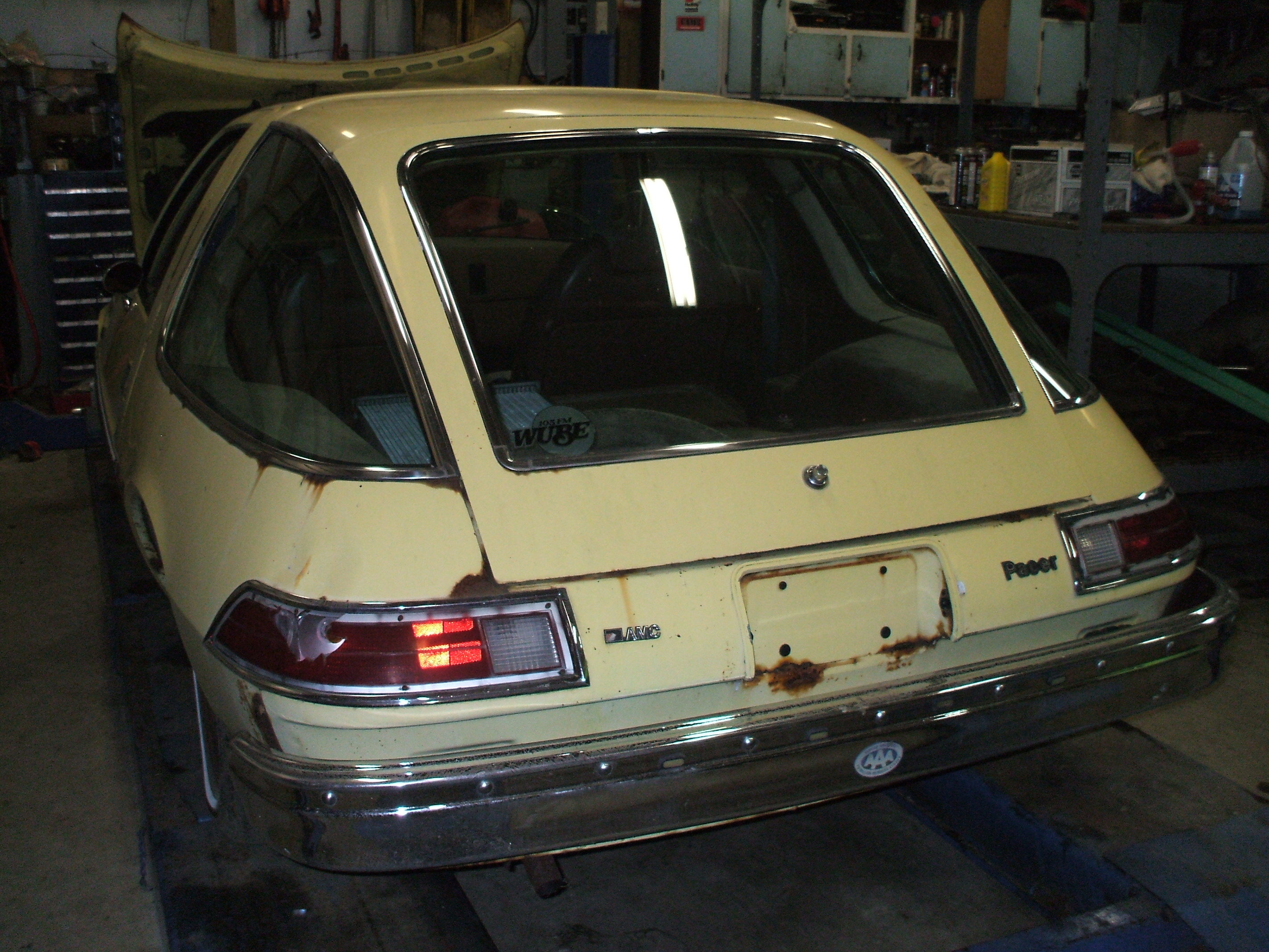Another Shock_666 1977 AMC Pacer post... - 13060889