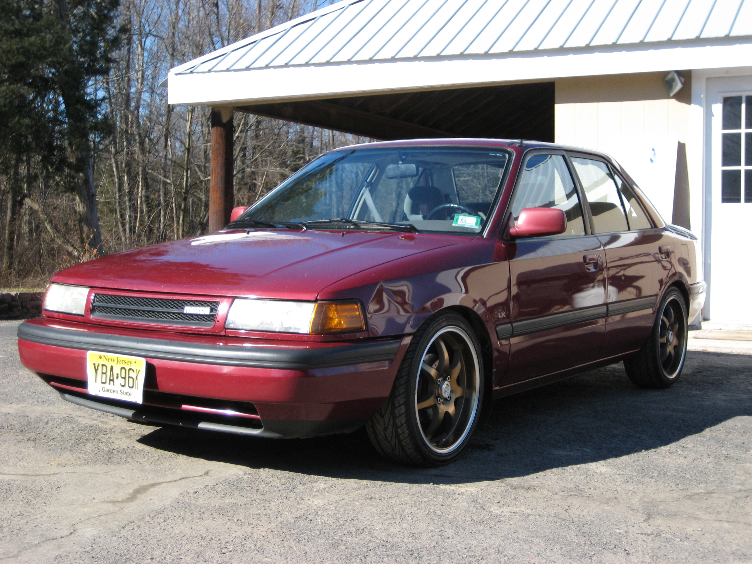 Hot88MustangGT 1991 Mazda Protege Specs, Photos, Modification Info
