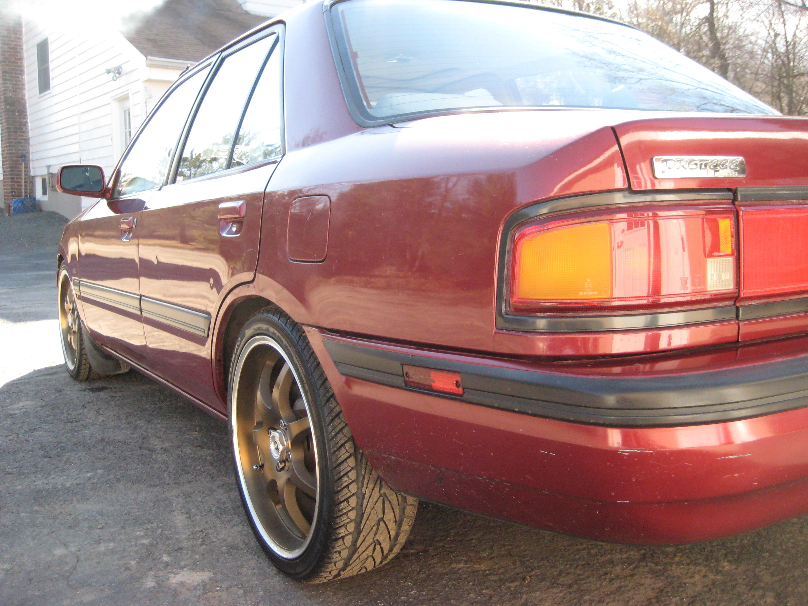 Another Hot88MustangGT 1991 Mazda Protege post... - 13057949