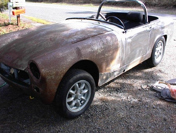 Another SendinK9 1969 Austin-Healey Sprite post... - 13064120
