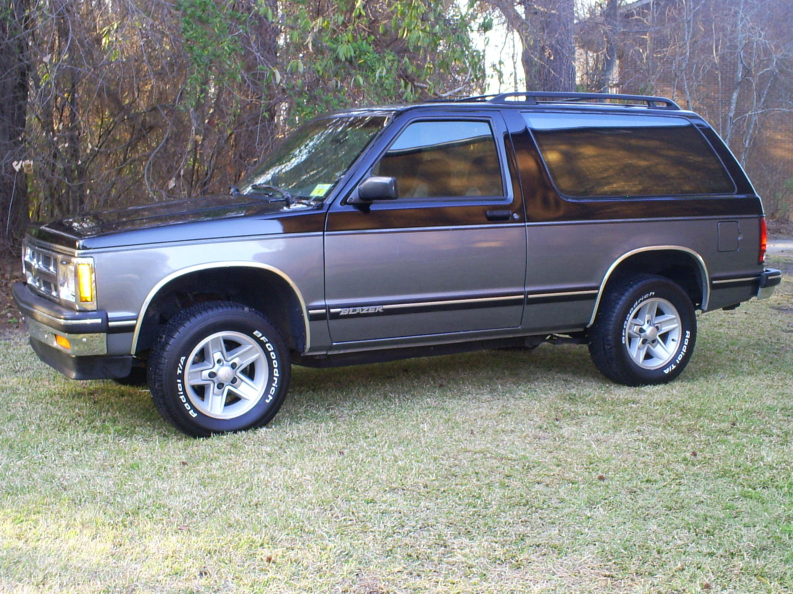 Original on 1984 Chevrolet S10 Blazer