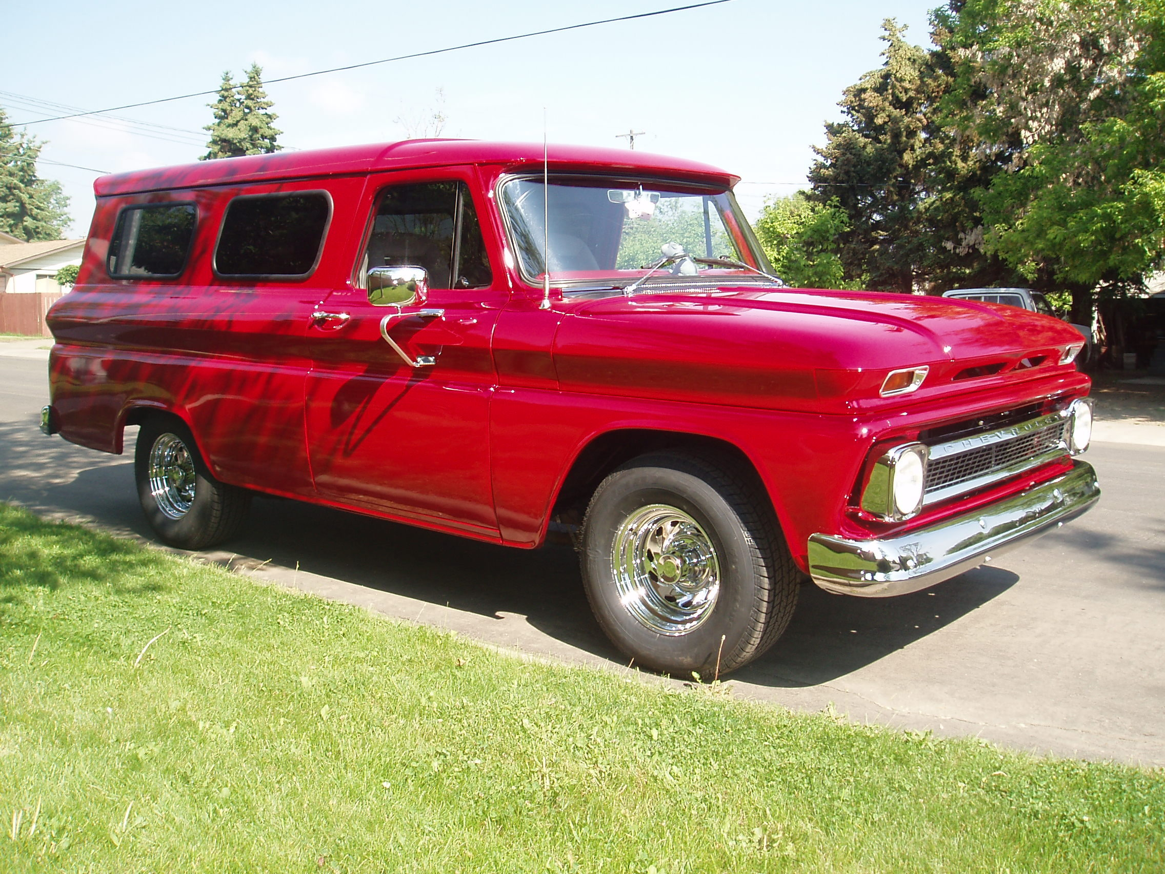 Quaid540's 1964 Chevrolet Panel Van
