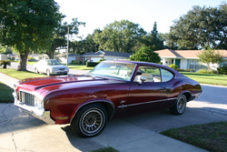 BLESSWITHACURSEs 1970 Oldsmobile Cutlass