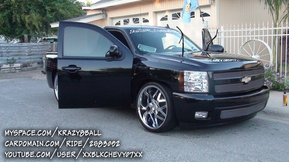 Another xxkrazy8ballxx 2007 Chevrolet Silverado 1500 Regular Cab post... - 9650628