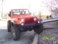1badoranges 1999 Jeep TJ