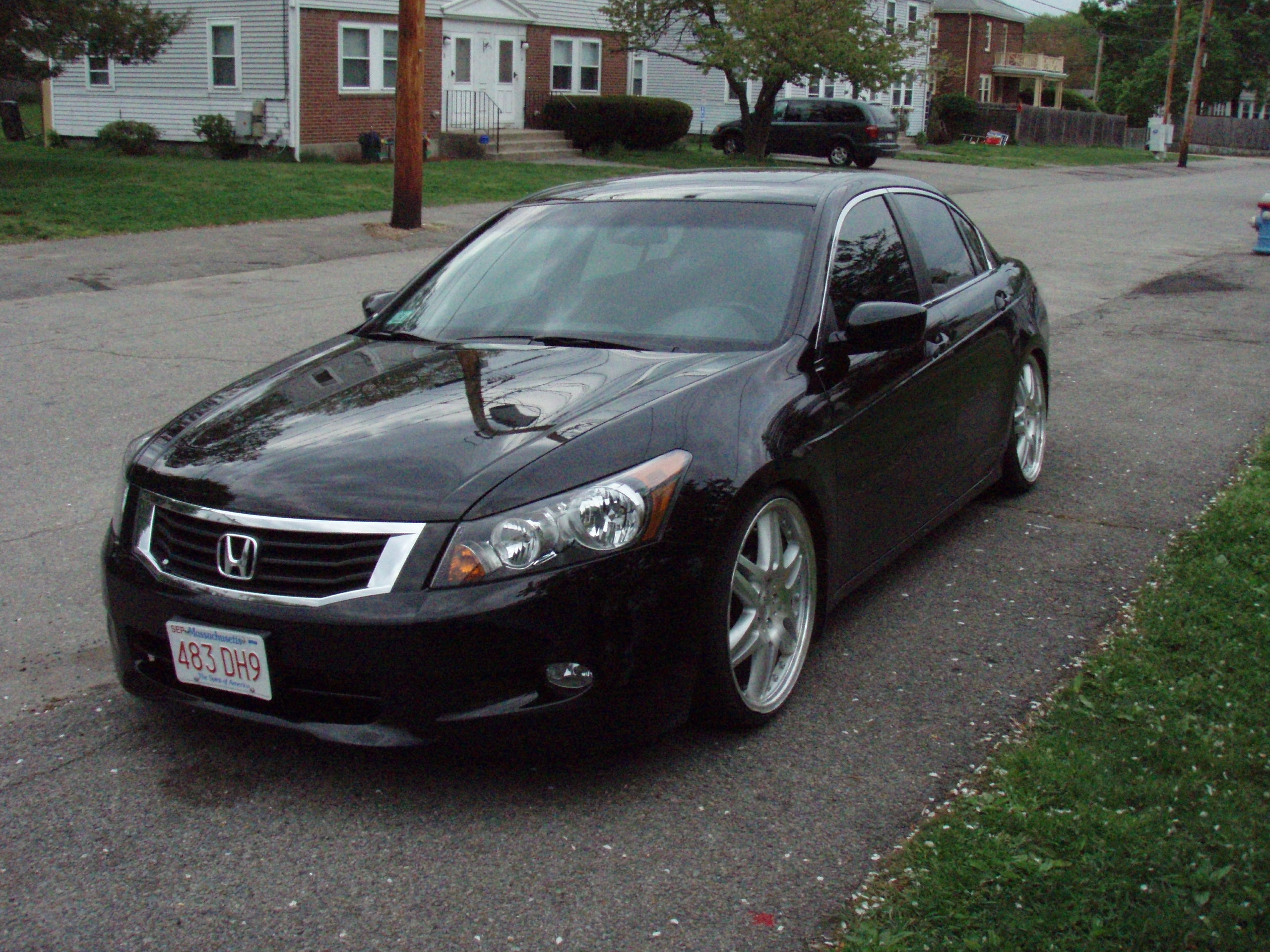 88 black lude 39 s 2009 honda accord lx sedan 4d in la puente ca. Black Bedroom Furniture Sets. Home Design Ideas