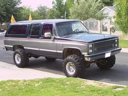 DARKMONSTERs 1987 Chevrolet Suburban 1500