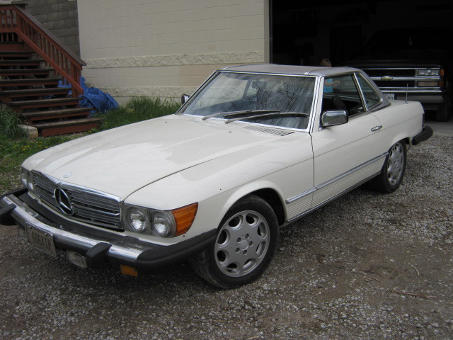 puttindougie 1980 Mercedes-Benz SL-Class