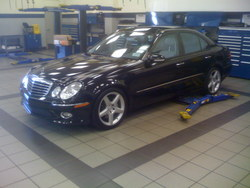 LL55AMGs 2007 Mercedes-Benz E-Class