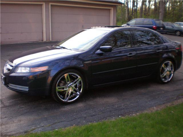 sumn4in 2005 acura tl specs photos modification info at. Black Bedroom Furniture Sets. Home Design Ideas
