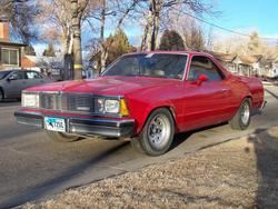 Quitegrands 1981 Chevrolet El Camino
