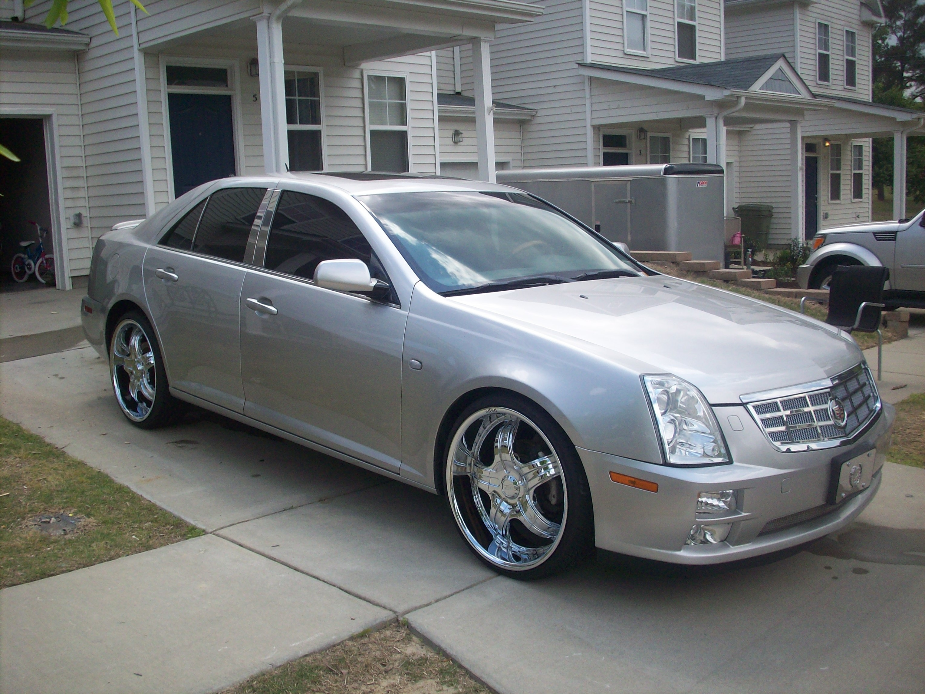 NellysCaddi22s 2007 Cadillac STS Specs, Photos, Modification Info at