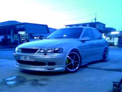 team_vrtL 2001 Opel Vectra