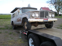 brakin 1967 Jeep Gladiator
