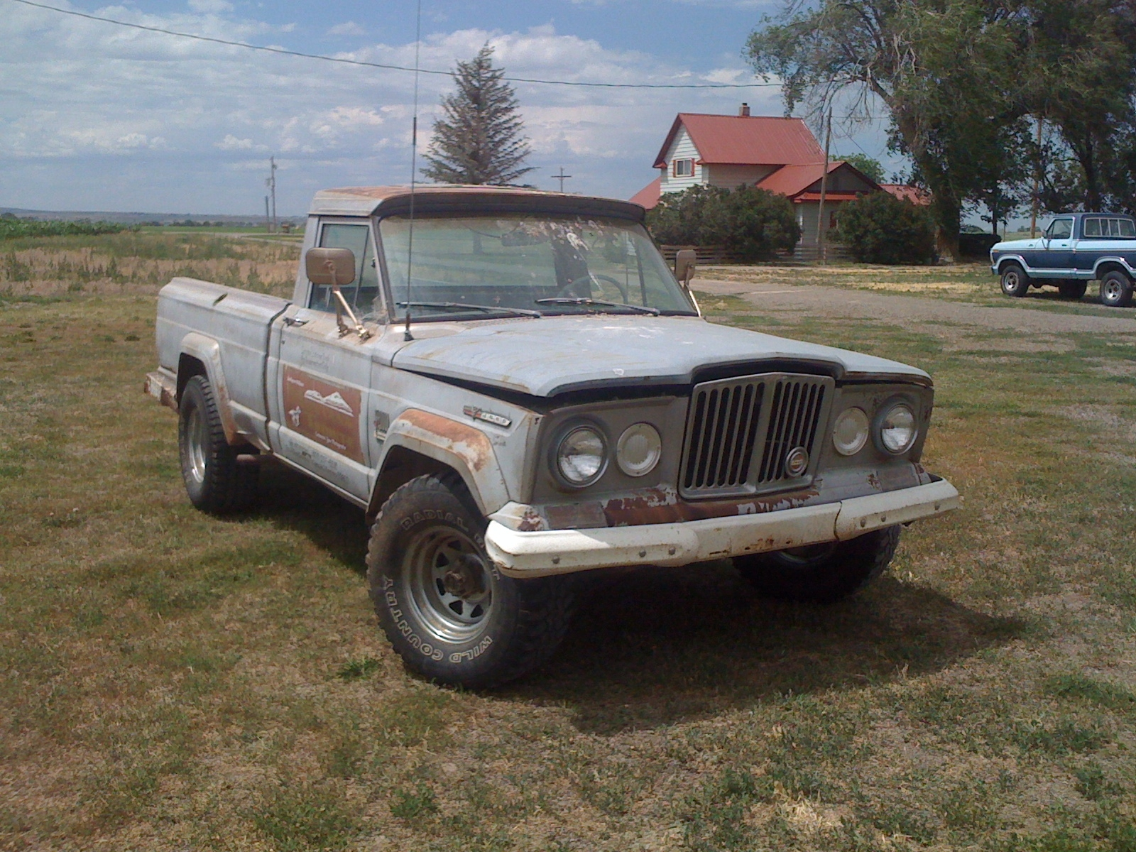 brakin 1967 Jeep Gladiator 13126340