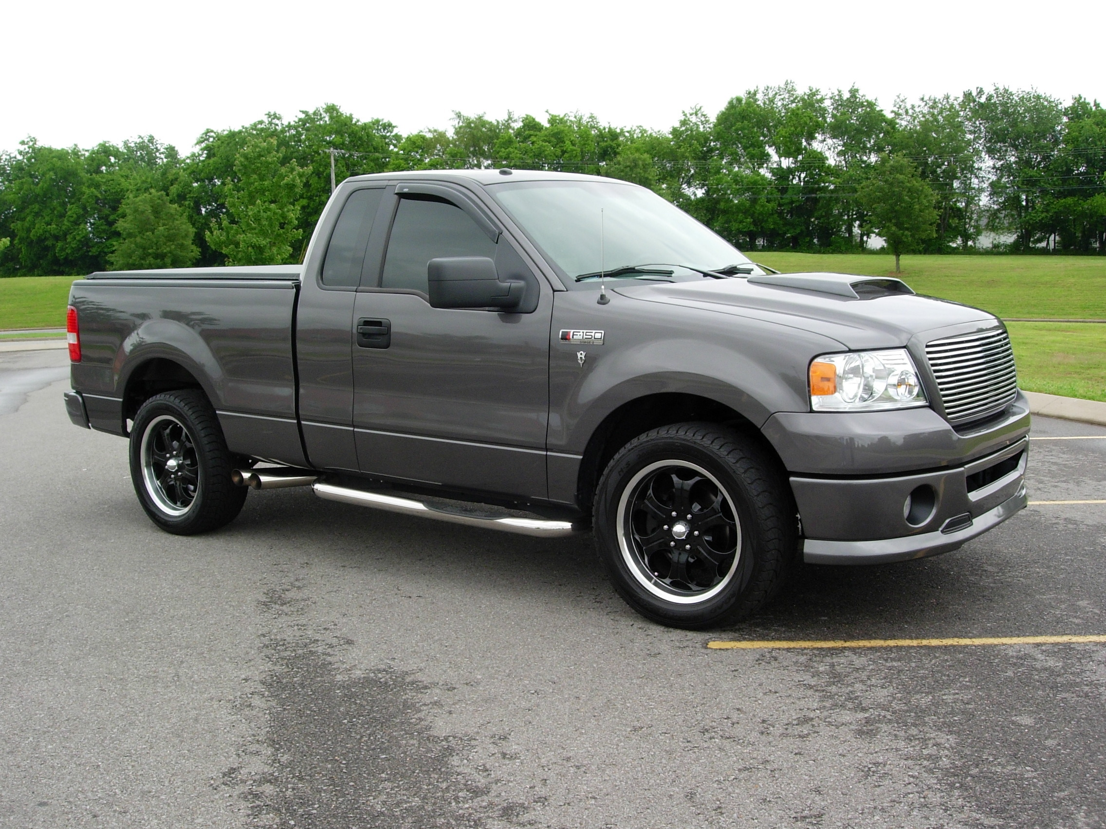 customonly 2008 ford f150 regular cab specs photos modification info at cardomain. Black Bedroom Furniture Sets. Home Design Ideas