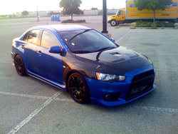 evoben2009s 2008 Mitsubishi Lancer