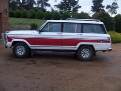 The-Wes 1985 Jeep Grand Wagoneer