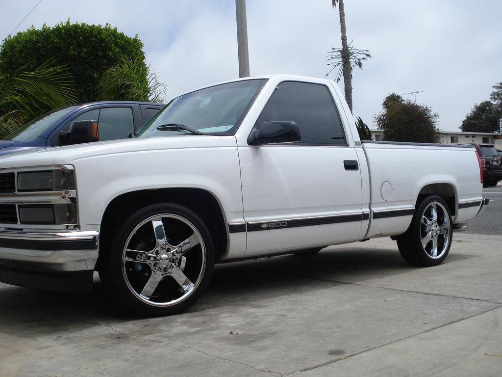 1996 Chevrolet Silverado 1500 Regular Cab on 2009 gmc sierra regular cab