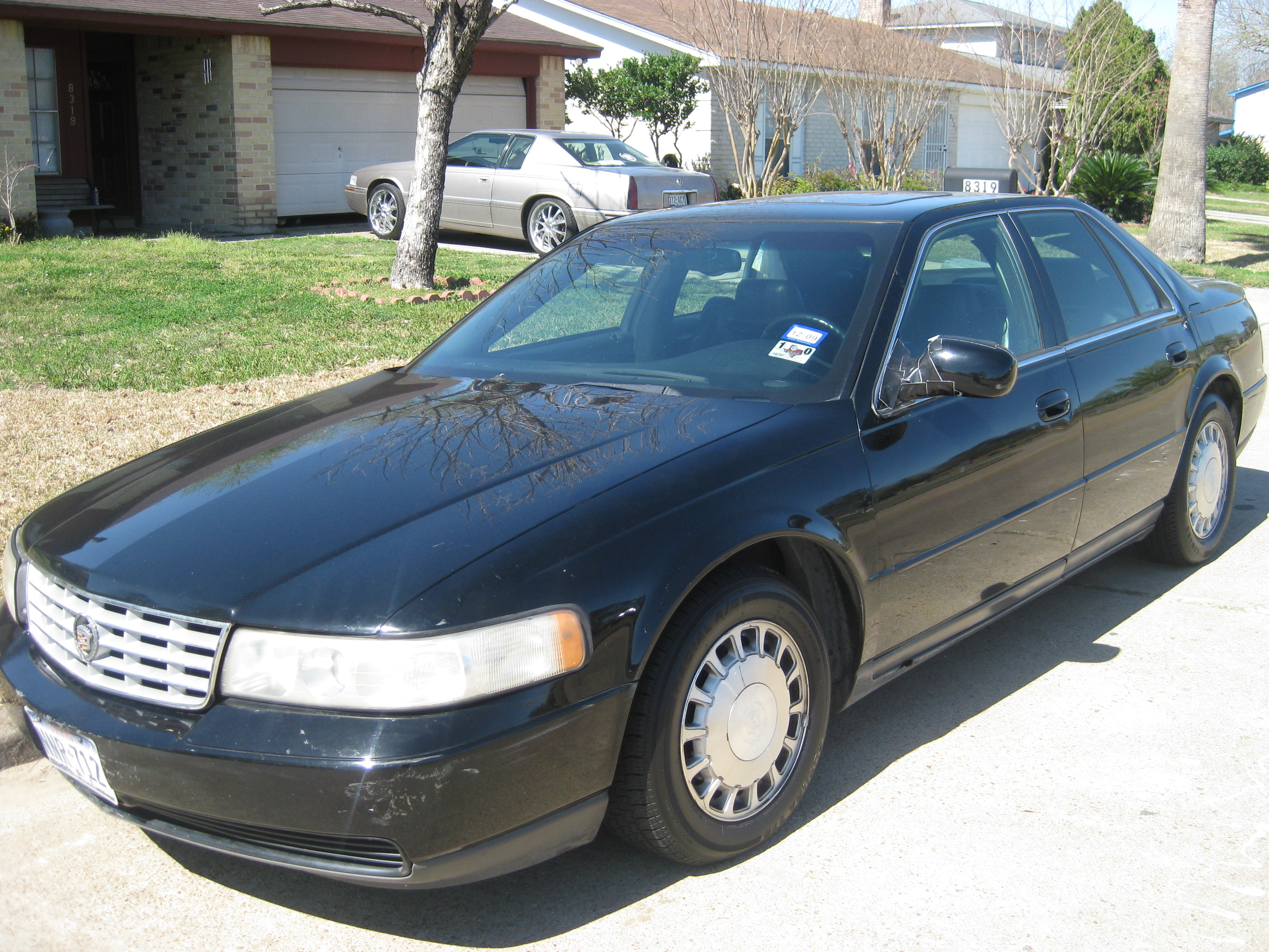talamant3s 39 s 2000 cadillac seville in houston tx. Black Bedroom Furniture Sets. Home Design Ideas