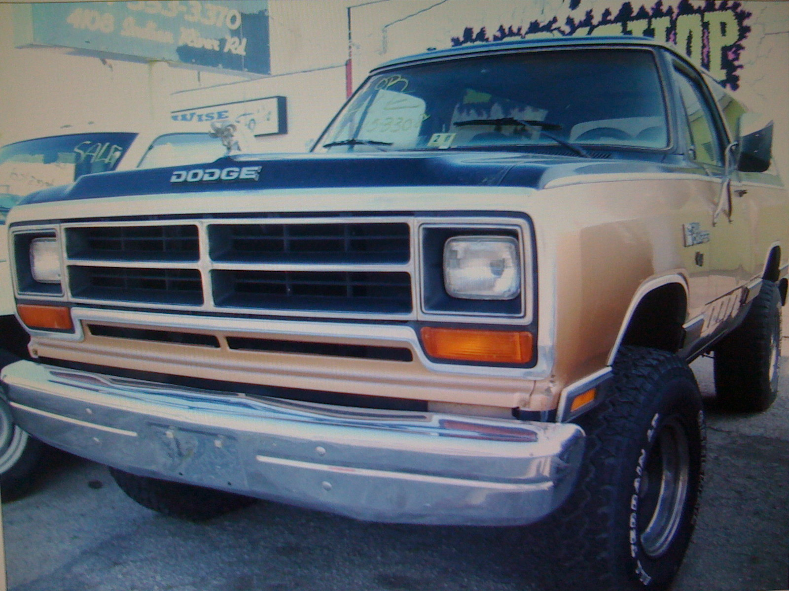 Blkcharger 1987 Dodge Ramcharger Specs Photos Modification Info At Cardomain