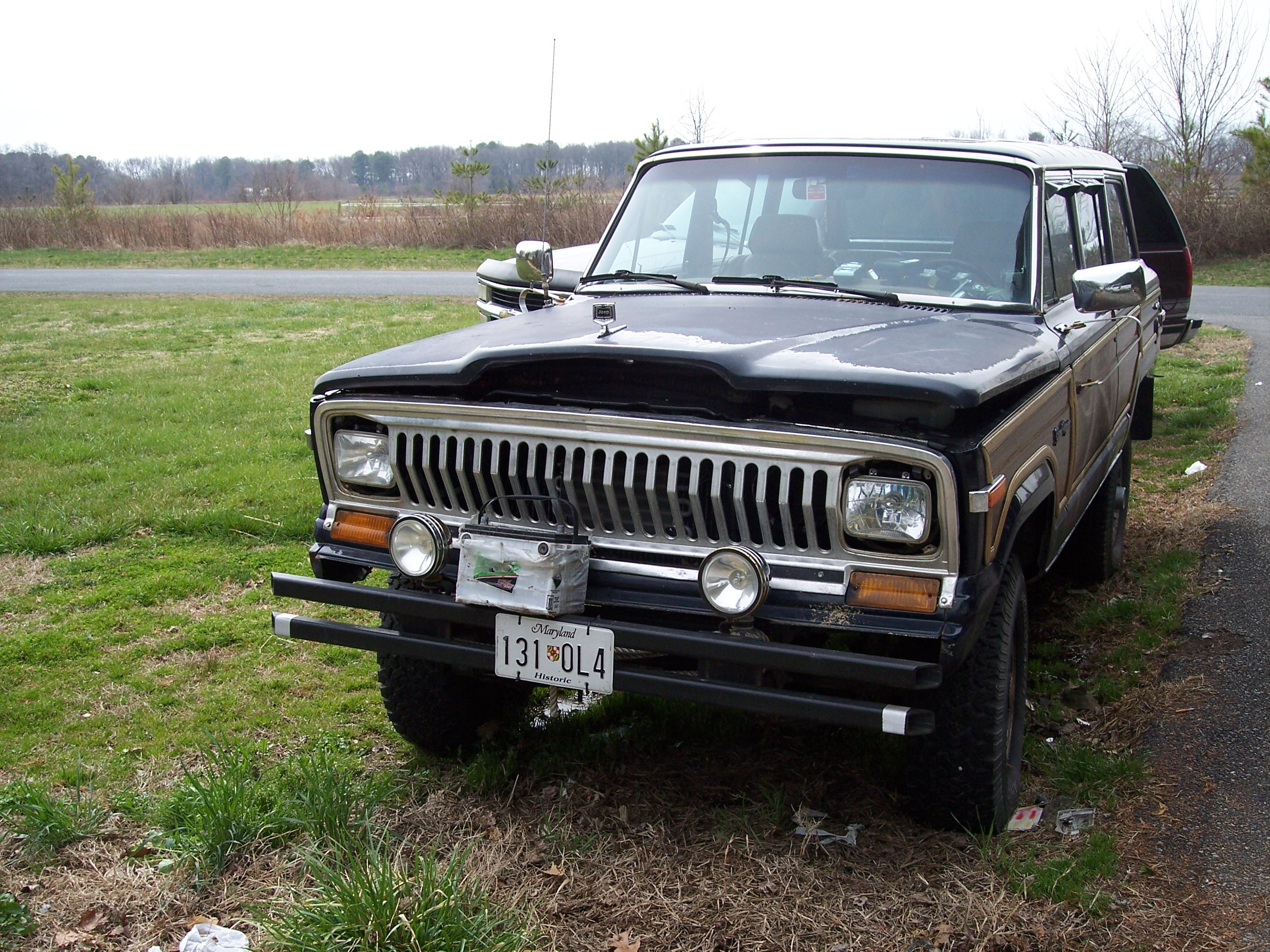 Another SQUIDLESS 1987 Jeep Grand Wagoneer post... - 13483157