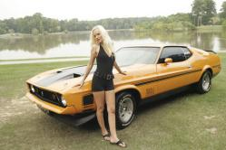 MustangShirley 1972 Ford Mustang