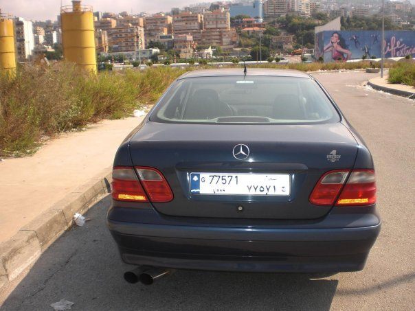 Another Lebanese_Spyder 1998 Mercedes-Benz CLK-Class post... - 13178505